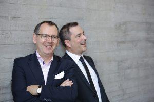 Geschäftsleiter Dr. Dieter Braun und Dr. Michael Krutwig