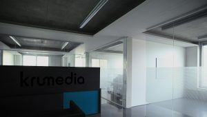 Innenaufnahme der krumedia Büroräume