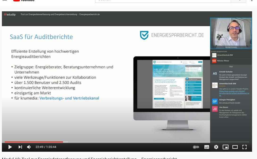 energiesparbericht.de vorstellt